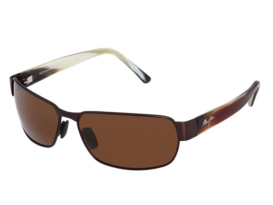 Maui Jim Black Coral (Matte Espresso) Sport Sunglasses