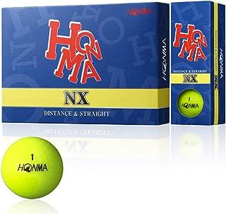 Honma NX Golf Balls 1 Dozen Yellow