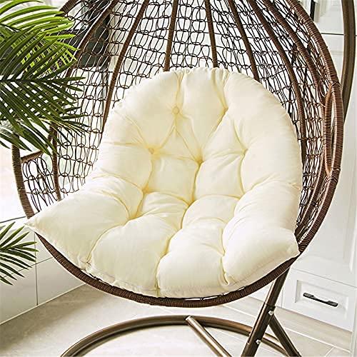 Cojín para Silla Colgante - Lavable - 80 x 120 cm (sin sillas) - Blanco arroz