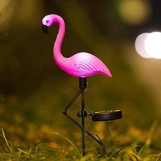 Elnsivo Flamingo Lawn Lamp Garden Decor Solar Lights Solar Yard Pink Flamingo Lights Outdoor Decorative Stake - Solar Pink Flamingo Yard Ornaments(Solar Flamingo)