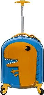 Rockland My First Luggage Polycarbonate Hardside Spinner, Dinosaur (Multi) - B02-DINOSAUR