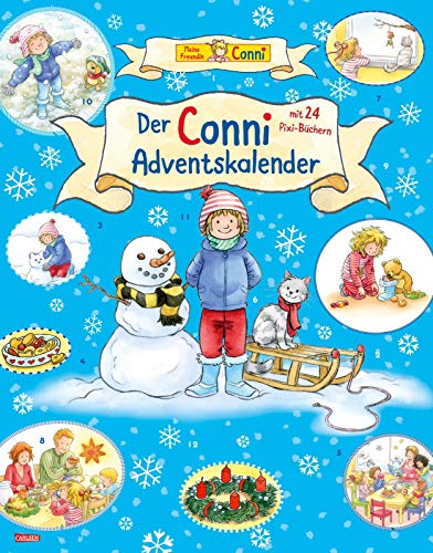 Conni Pixi Adventskalender 2021: Mit 24 Pixi-Büchern