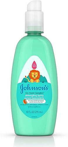 Johnson's No More Tangles Spray Detangler - Light Fresh Scent - 10 oz