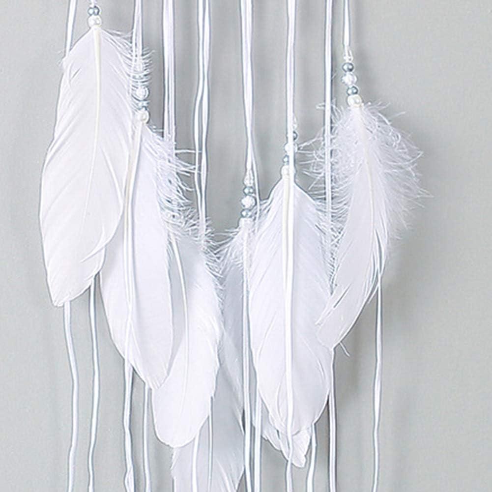 decoraci/ón del hogar con dise/ño de media luna atrapasue/ños hecho a mano Bodhi200 0 atrapasue/ños plumas para colgar con estrella adorno de regalo de