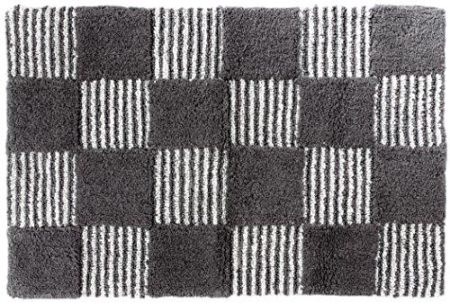 Gelco Design 711040 Tapis de Bain, Coton, Carbone, 60 x 90 x 0,5 cm