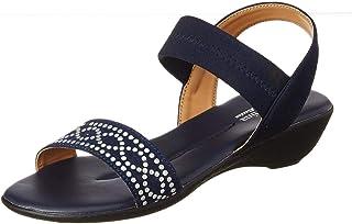 BATA Women's Lycra S-comfort-ss19 Flat Sandal