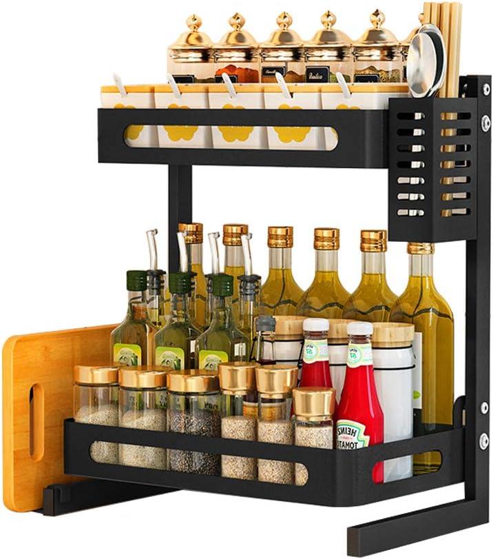 Time sale JoyRain Countertop Spice Rack Set Steel Stainless Cabin Kitchen List price
