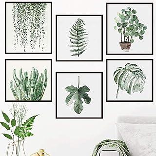 不二玩家 ウォールステッカー 緑 葉 植物 春 鉢植え おしゃれ アート 北欧ウォールデコ ウォール 装飾 M0289