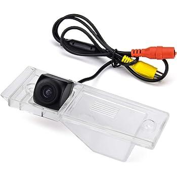 12 LED Adjustable Angle aSATAH 12 LED Adjustable Angle Car Rear View Camera for KIA VQ//Carnival//Sedona//Grand Carnival//Sedona//Carnival R /& HD CCD Waterproof and Shockproof Reversing Backup Camera