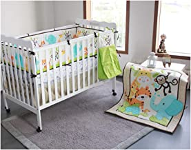 Nursery Crib Bedding, Baby Gift Bedding Sets,19PCS Necessary Newborn Cotton Comfort Suits for Bedtime and Bathing