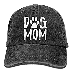 Fun Dog Mom hat in grey