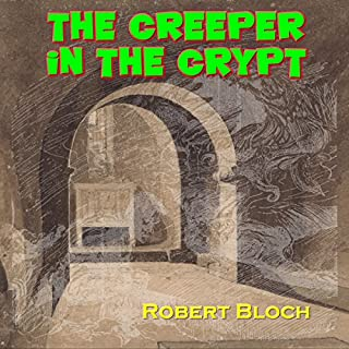 The Creeper in the Crypt audiobook cover art