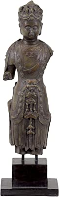 Urban Trends Collection UTC70493 Resin Buddha Figurine on The Stand