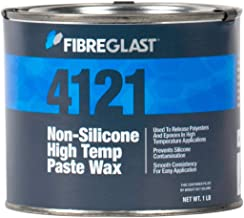 Fibre Glast - Non-Silicone High Temperature Paste Wax - 1-Pound Can - Mold Release for High Working Temps