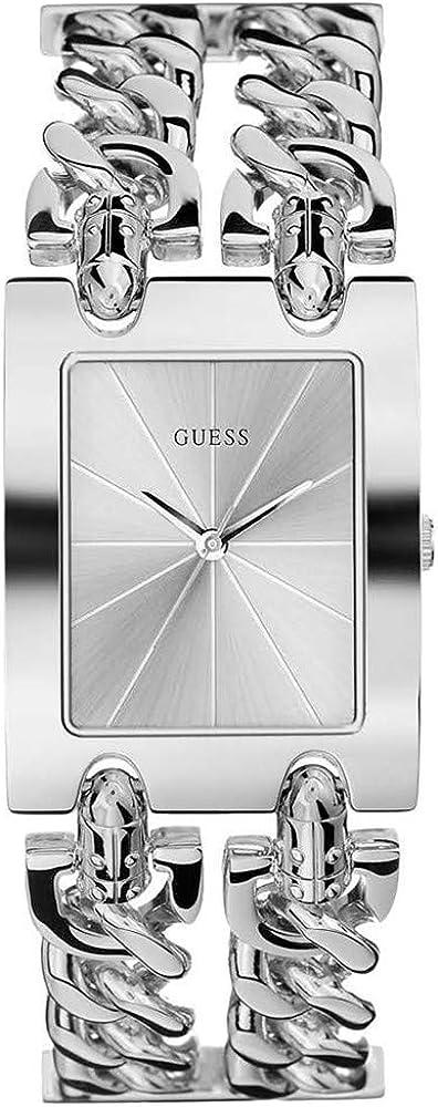 Guess orologio analogico donna in acciaio inossidabile W1117L1