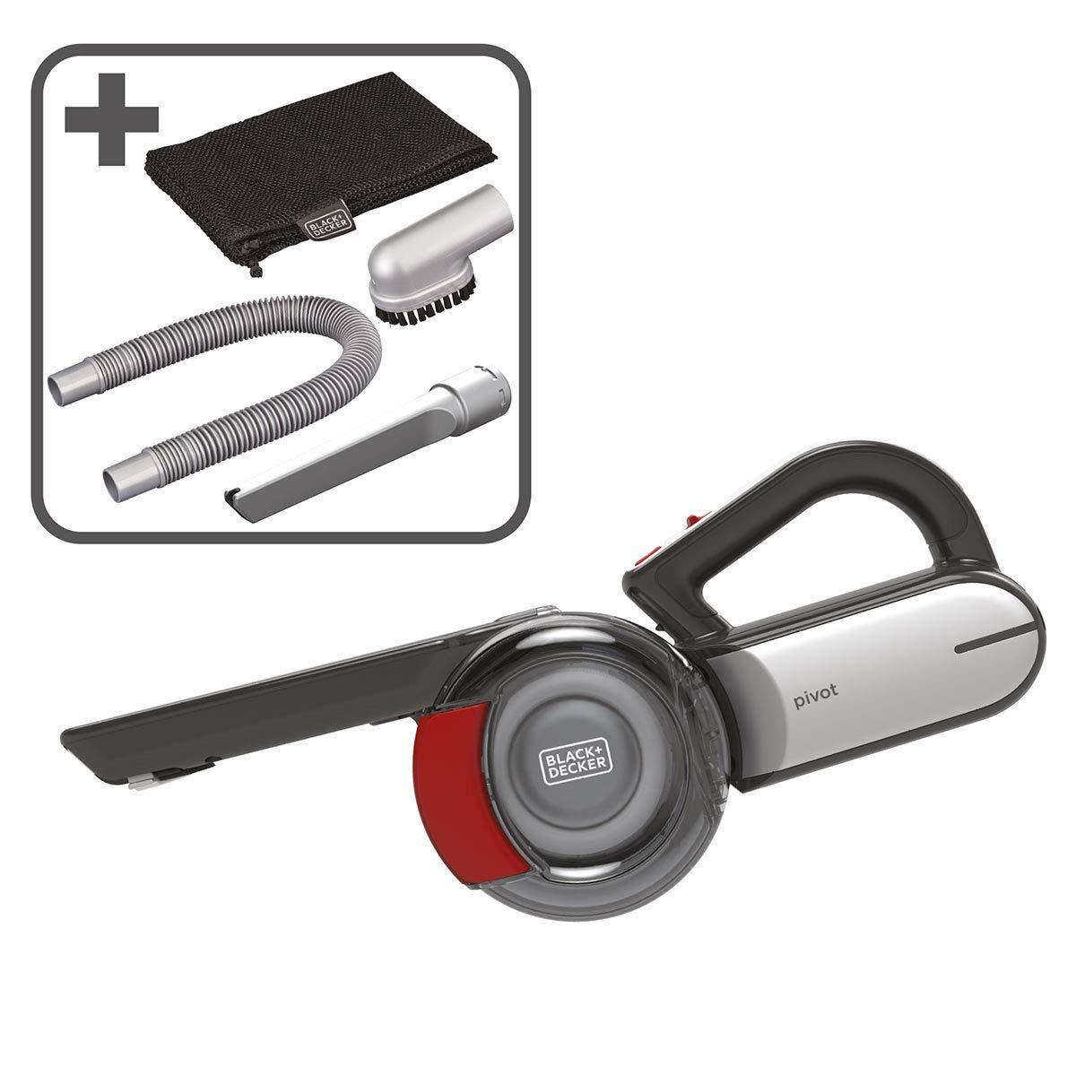 Black + Decker Dustbuster - Aspiradora inalámbrica para coche (18 V, PV1820LAVC-GB): Amazon.es: Hogar