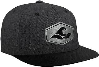 Joe's USA Koloa Surf Hexagon Patch Logo Solid Snapback Hats