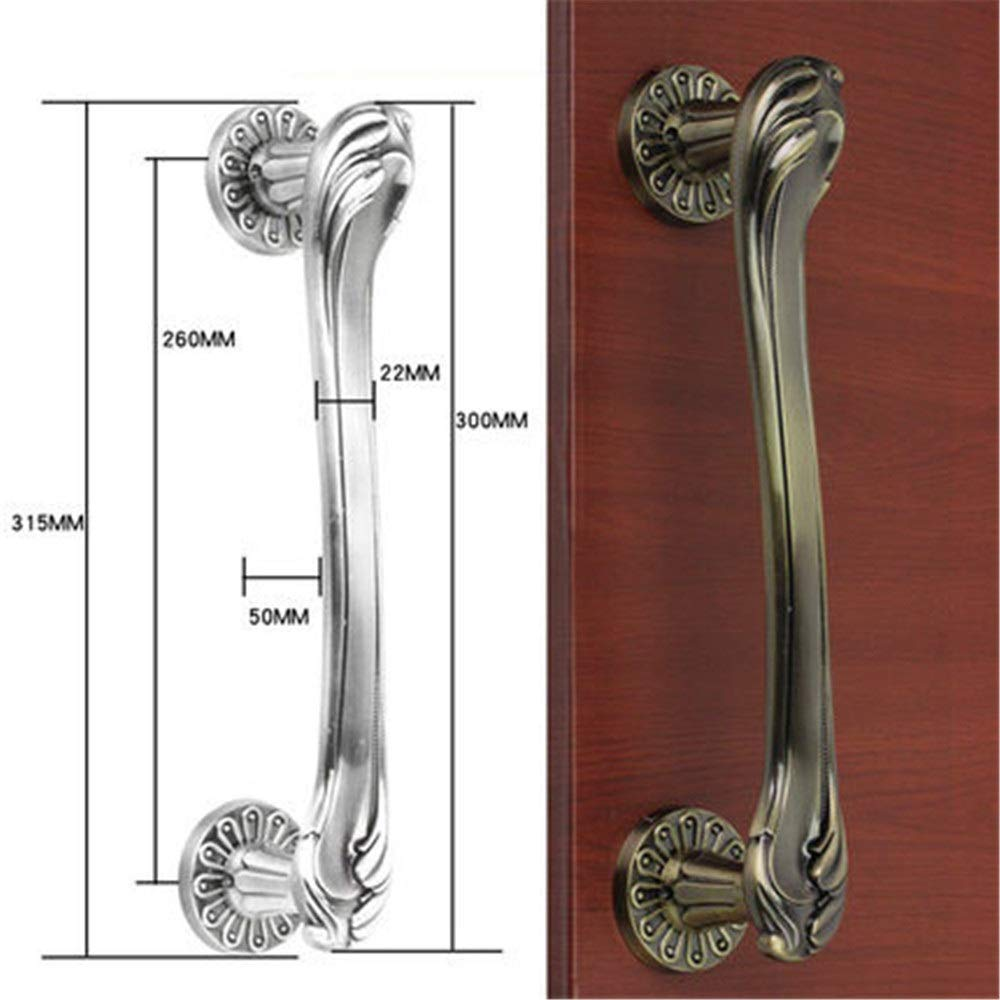 Tiradores de puerta de metal Tiradores de puerta Puerta corrediza Manija de puerta de madera Tirador