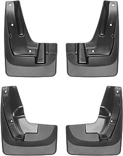 WeatherTech Custom MudFlaps for Subaru Forester - Front & Rear Set Black (110061-120061)