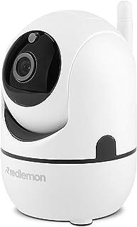Redlemon Cámara de Seguridad WiFi 360° HD con Seguimiento