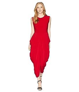 Sleeveless Waterfall Dress
