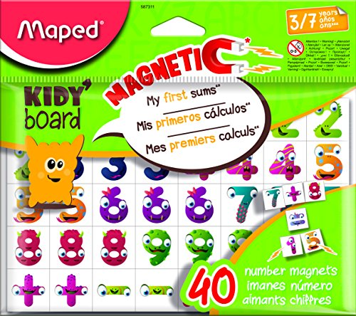 Maped M587311 - magneten Fancy 40 cijfers voor Kidy Board