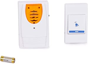 WefuseWireless Door Bell for Home Shop (Assorted Colour and Designs)