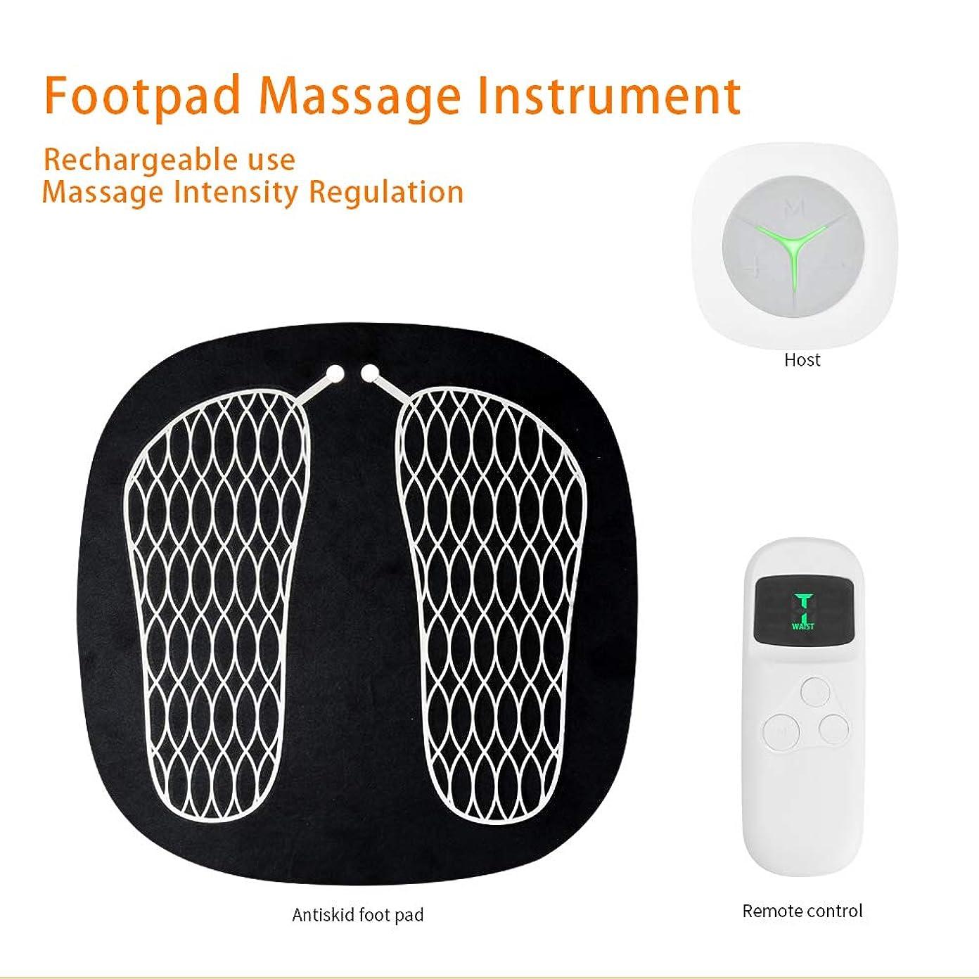 後悔適応くしゃみ指圧式フットマッサージャー、マルチファンクションインテリジェントフットマッサージ、倦怠感軽減、鍼治療のポイント、6モードUSBチャージ,White