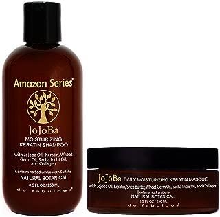 Amazon Series Jojoba Moisturizing Keratin Shampoo & Masque Set 8.5 fl oz