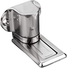 Solid Zinklegering Verstelbare Magnetische Deur Stop Hidden Floor Mount Deurvanger Gratis Ponsendeur Houder W / 3M Sticker...