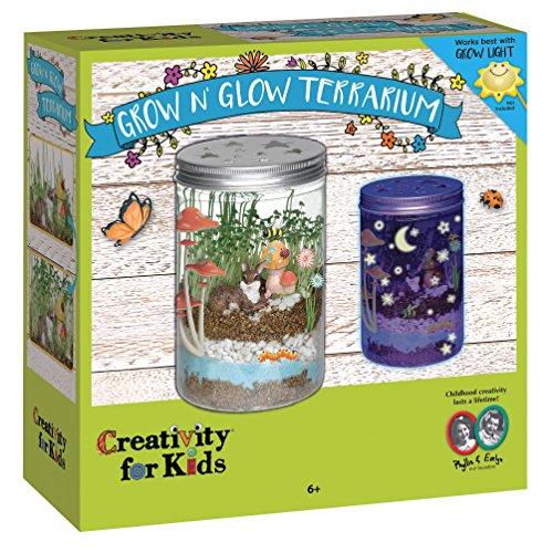 Grow 'N Glow Terrarium From Creativity For Kids