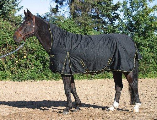 jw reitsport Highneck Winterdecke 300gr schwarz 155 cm