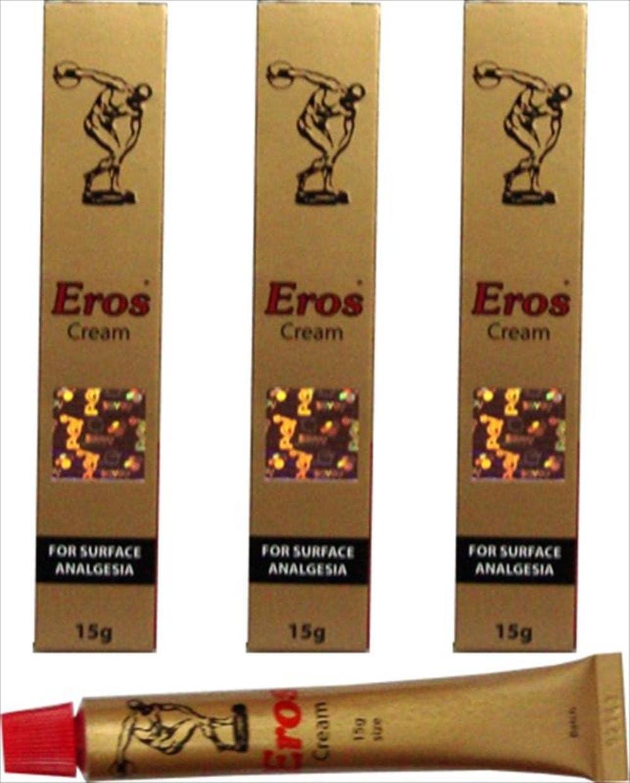 3 X Import famous Eros Cream Genital Delay Maximum I Strength Sex Sexual
