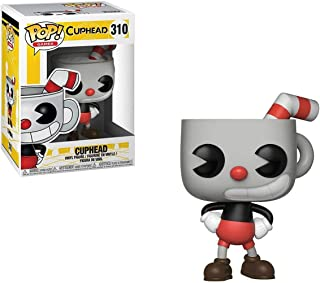 Funko POP! Games: Cuphead - Cuphead (styles may vary),Multi-colored,3.75 inches