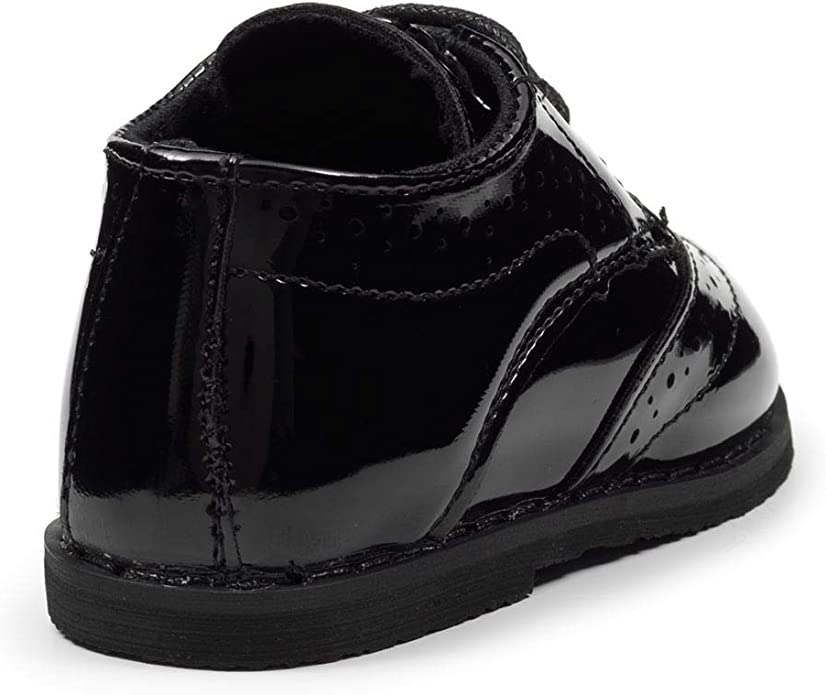 Paisley of London zapatos brogue para ni/ños inf1 zapatos de patente para ni/ños o negro mate inf8
