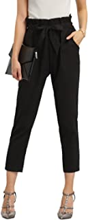 Best high waist tie dress pants Reviews