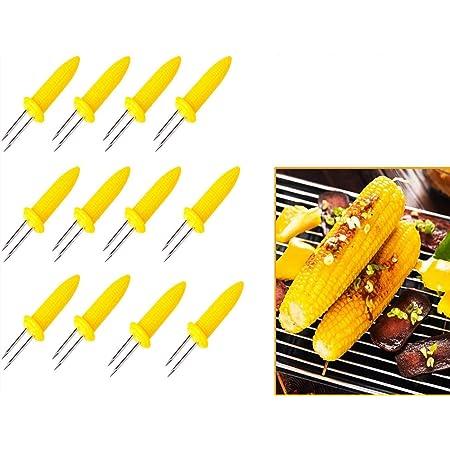 WESTMARK 4 x Maiskolbenhalter Maiskolbenspieße Spieße