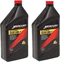 Mercury 92-858064K01 Marine SAE 90 High Performance Gear Lube, 1 Quart