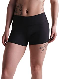 "Tough Mode Apparel Womens 3"" Athletic Workout Volleyball Crossfit Running WOD Shorts"