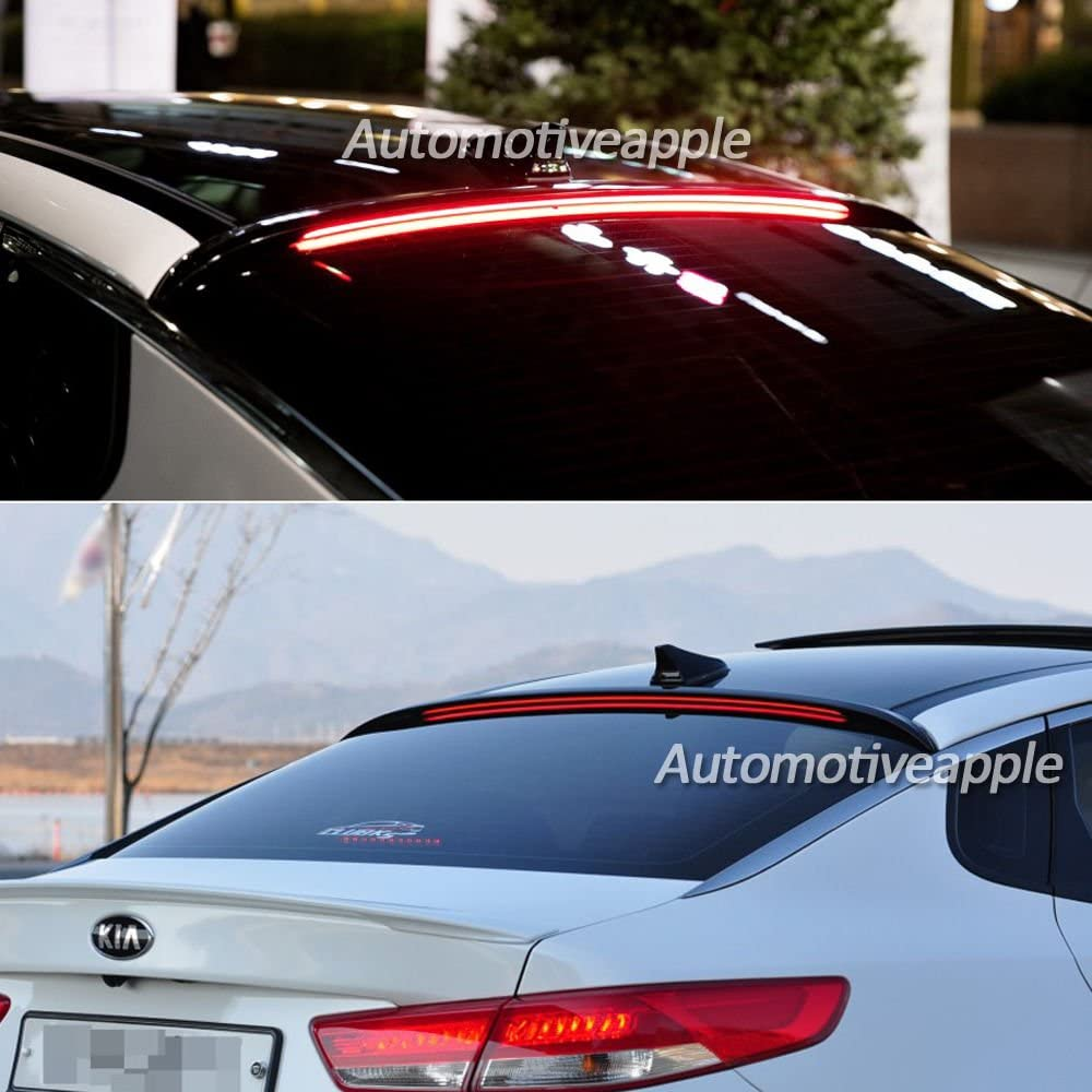 Automotiveapple Popular products LED Roof Spoiler At the price Black for Kia K5 Optima