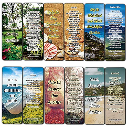 A Prayer for Couples Bookmarks (12-Pack)