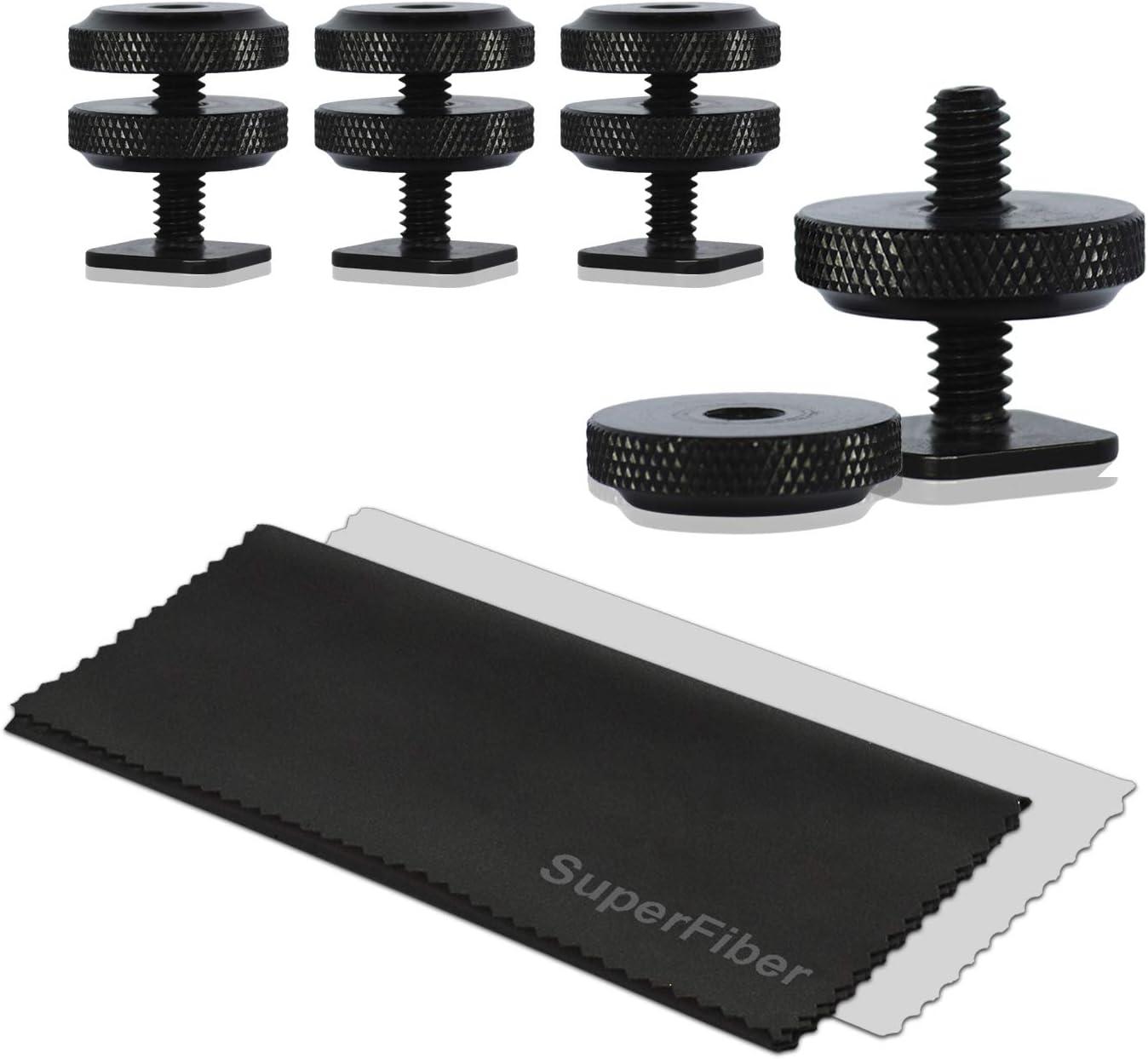 LimoStudio 4 pcs Mini Brand Cheap Sale Venue Black Double Screw M Under blast sales Hot 4