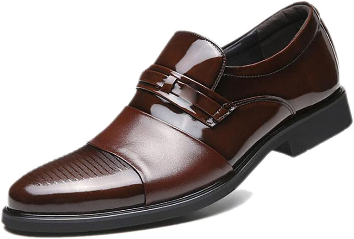 Men's Formal Business Casual shoes Pointed Sets of Feet Wedding Youth shoes