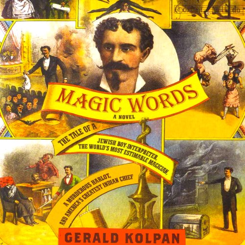 Magic Words audiobook cover art