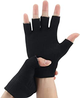 EXPER Moisturizing Gel Gloves Day Night Relief from Eczema and Dry, Rough, and Cracked Hands Thermoplastic Gel Lining with...