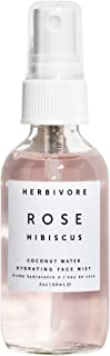 Herbivore - Natural Rose Hibiscus Hydrating Face Mist | Truly Natural, Clean Beauty (2 oz)