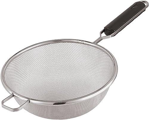 setaccio e colino da t/è Set di 3 colini per alimenti in acciaio inox di alta qualit/à realizzati per impastare pasta e quinoa. setaccio per farina