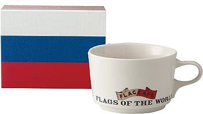 フラッグ カフェ マグカップ (ポストカード付) (化粧箱入) ロシア 1072