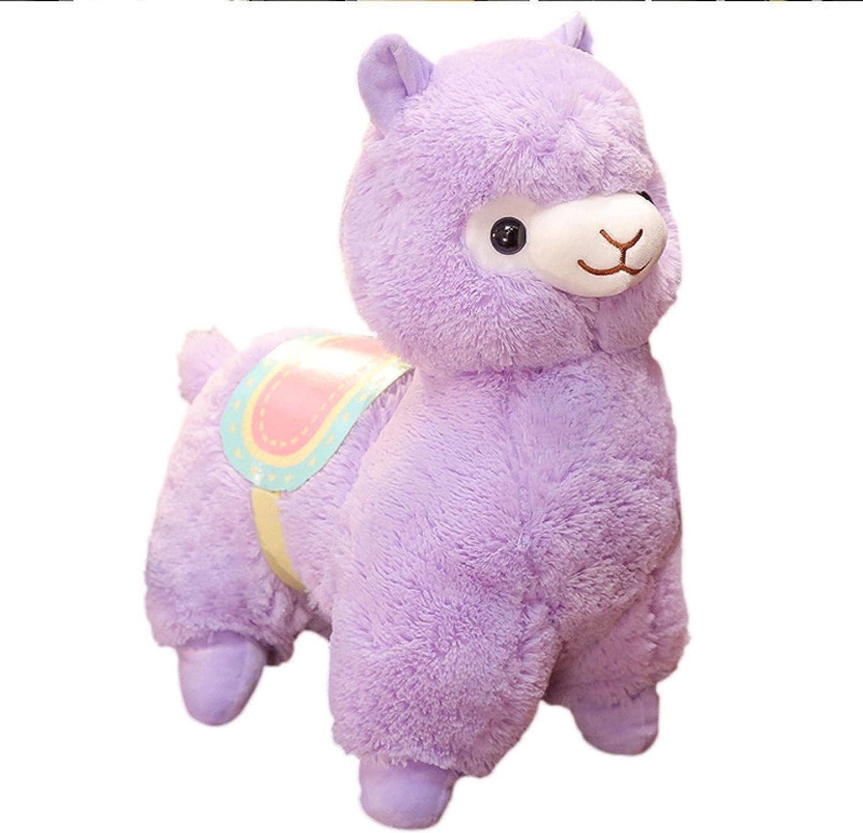 Cute Alpaca Plush Toys Soft Regular dealer Max 80% OFF Dolls Children's D Room