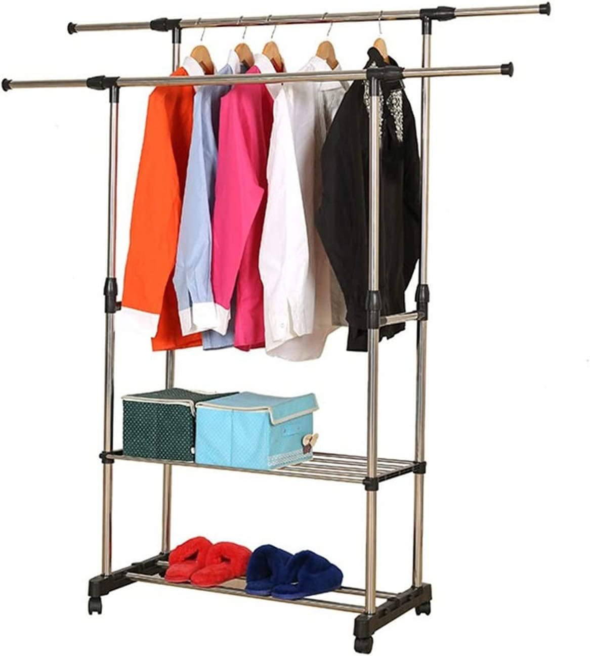 Clothes Drying Rack Easy-to-use Laundry Storage Long-awaited Products Steel Dou Stainless